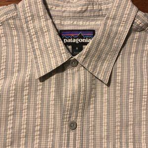 Patagonia men's Puckerware SS Shirt Size M
